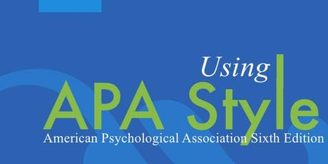 Introduction to APA Format tickets
