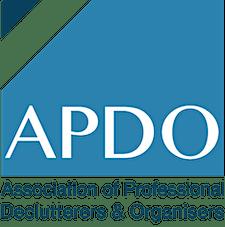 APDO Association of Professional Declutterers & Organisers logo