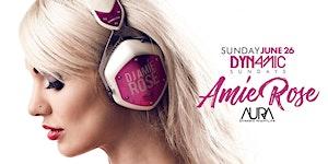 AURA Sunday featuring Amie Rose