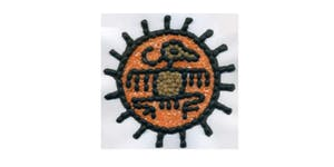 Pre-Columbian Mosaics With Seeds And Beans