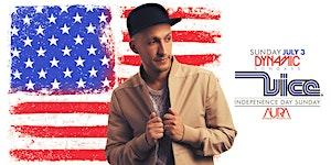DJ Vice AURA Sunday Independence Day