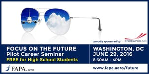 FAPA's 'Focus on the Future': For Students Interested...