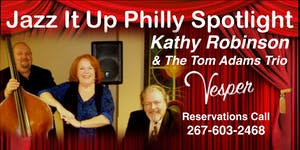 "Kathy ""Babe"" Robinson and the Tom Adams Trio Jazz It..."
