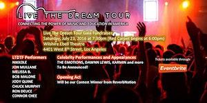 Live The Dream Tour Gala Fundraiser