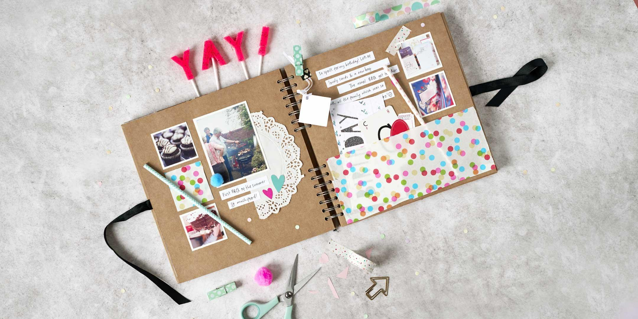 Scrapbooking for Kids (6-12) - Paperchase - S