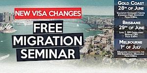 FREE Migration Seminar - Brisbane