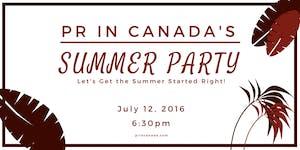 3rd Annual PR In Canada's Top 30 Under 30 Gala &...
