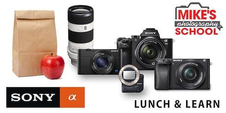 Sony Lunch & Learn- Boulder tickets