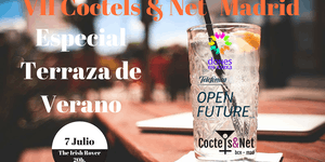 Coctels & Net MAD Especial Terraza de Verano 7 Julio...