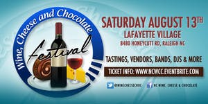 NC Wine, Cheese and Chocolate Festival