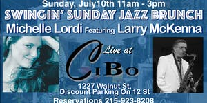 Michelle Lordi and Larry McKenna Swingin Sunday Jazz Br...