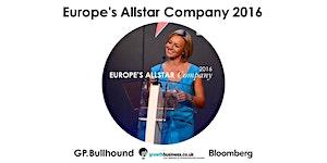 Europe's Allstar Company 2016 - 29 September, London