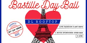 Bastille Day Ball at DL Rooftop w Open Bar