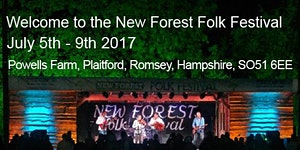 New Forest Folk Festival July 2017