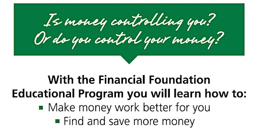 IMPROVE YOUR MONEY SKILLS WITH FINANCIAL LITERACY CLASSES & WORKSHOPS