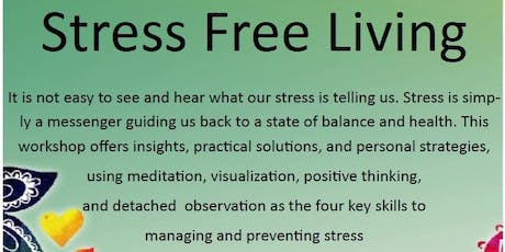 Stress Free Living tickets