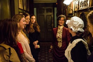 Costumed evening tours of 18 Stafford Terrace