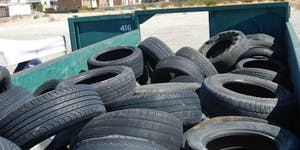 Rancho Mirage Tire Recycling Event