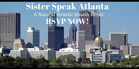 Sister Speak Atlanta tickets