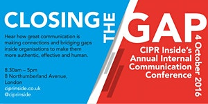 Closing the gap - Annual Internal Communication...