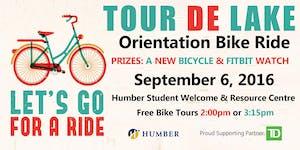 Tour de Lake 2016 - Orientation Bike Ride - Humber...