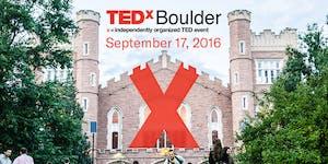 TEDxBoulder 2016