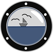 Ins tiefe Blau logo