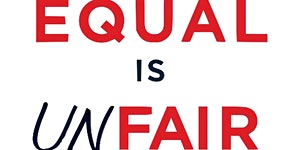 """Equal is Unfair"": book presentation by Don Watkins"