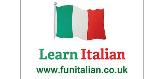 Daytime beginner's Italian class