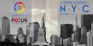 Justice In Focus: 9/11   2016  -  A Weekend Symposium...
