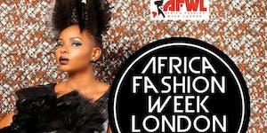 AFRICA FASHION WEEK LONDON - 9th September  2016