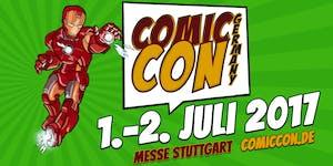 Comic Con Germany 01. bis 02. Juli 2017 Stuttgart