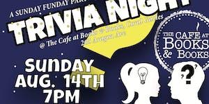 TRIVIA NIGHT! @ BOOKS & BOOKS