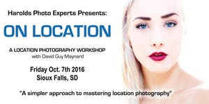 """ON LOCATION"" a Location Photography Workshop - Sioux..."