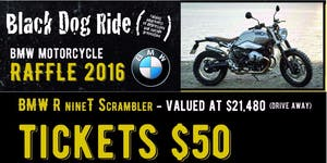 Black Dog Ride 2016 BMW Raffle