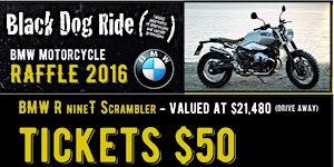 Black Dog Ride 2016 BMW Raffle