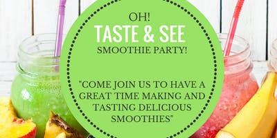 Smoothie Party!