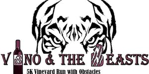 2017 Vino and The Beasts 5K Run with Obstacles -...