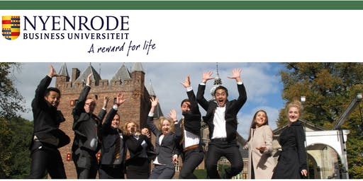 Request your FREE brochure from Nyenrode Business University