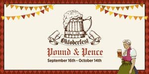 OktoberFest 2016 NYC at Pound and Pence