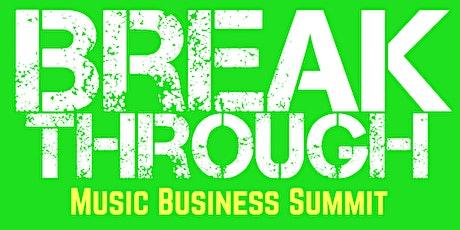 Breakthrough Music Business Summit Stockholm biljetter
