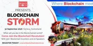 Blockchain STORM Geneva 30 Sep 2016