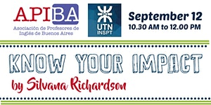 """""""Know Your Impact"""" by Silvana Richardson (I.N.S.P.T...."""