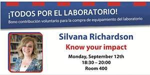 """Know Your Impact"" by Silvana Richardson (I.E.S. en LV..."