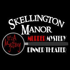 Skellington Manor Murder Mystery Dinner Theater logo