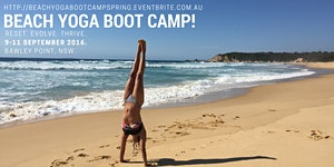 BEACH YOGA BOOT CAMP - Spring 2016!