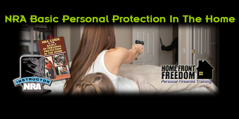 NRA Basic Personal Protection In the Home Instructor training