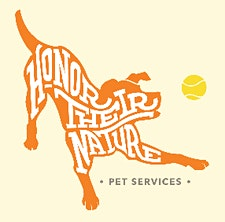 Honor Their Nature Pet Services logo