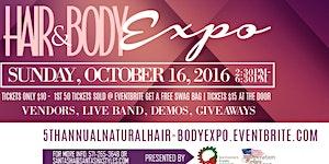 5th Annual Natural Hair & Body Expo