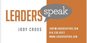 Leaders Speak Tucson, AZ - Public Speaking Workshop...